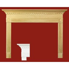Windsor MDF Primed Fireplace Mantel Surround