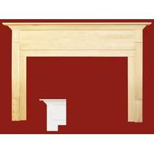 <strong>Forshaw</strong> Newport MDF Primed Fireplace Mantel Surround