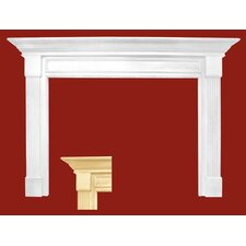 Franklin MDF Primed Fireplace Mantel Surround