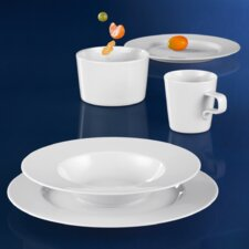 No Limits 5 Piece Dinnerware Set in White