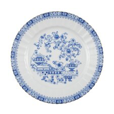 Dorothea Chinese Blue 24cm Dining Plate with Banner