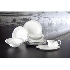Trio Nero 16 Piece Dinnerware Set