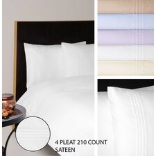 210 Thread Count Sateen Bedding Collection