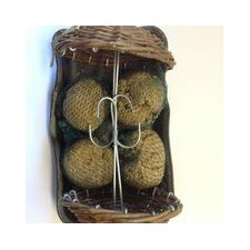 Willow Umbrella with 2 Fatballs (Pack of 2)