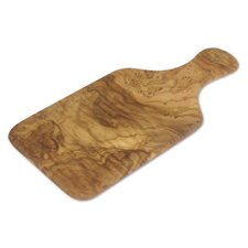 Olive Wood Cutting Board with Handle