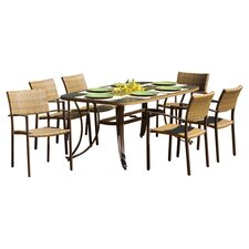 <strong>Tortuga Outdoor</strong> Maracay 7 Piece Dining Set