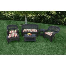 <strong>Tortuga Outdoor</strong> Portside 6 Piece Lounge Seating Group with Cushions