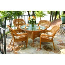 <strong>Tortuga Outdoor</strong> Portside 5 Piece Dining Set