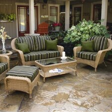Lexington 6 Piece Deep Seating Group with Cushion