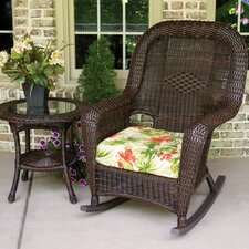 <strong>Tortuga Outdoor</strong> Lexington Rocking Chair with Table