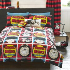 The Beano Squares Duvet Set