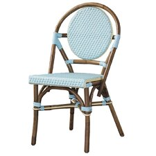<strong>Padmas Plantation</strong> Outdoor Cottage Paris Bistro Fabric Side Chair