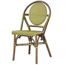 Outdoor Cottage Paris Bistro Fabric Side Chair