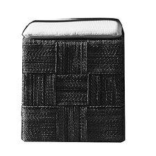 Plaid Cube Ottoman