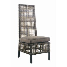 <strong>Padmas Plantation</strong> Outdoor Emperor Dining Side Chair with Cushion