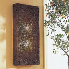 Wicker Large Partition Lamp