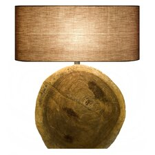 "Natura Core 23.79"" H Table Lamp with Drum Shade"