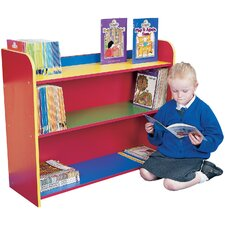 Primary Coloured 2 Shelf Bookcase