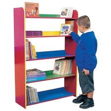Primary Coloured 4 Shelf Bookcase