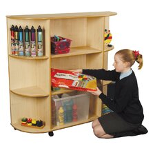 <strong>Liberty House Toys</strong> 3 Shelf Integral Corner Bookcase