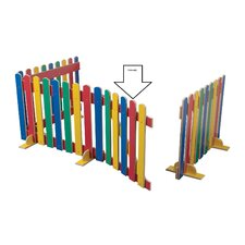 Primary Coloured Picket Gate Unit