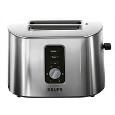 2 Slice Toaster in Brushed Stainless Steel