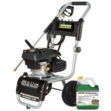 2600PSI Gas Pressure Washer with 20X Gallon Multi-Purpose Detergent