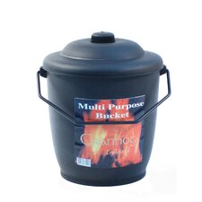 Multi Purpose Bucket Log Holder in Black