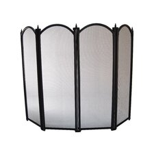 Four Fold Fire Screen