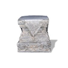 ResinStone Foo Dog Base Pedestal