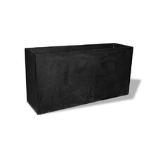 ResinStone Tall Rectangular Planter