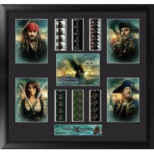 Pirates of the Caribbean On Stranger Tides Montage FilmCell Presentation Framed Memorabilia