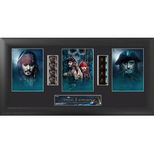 Pirates of the Caribbean On Stranger Tides Trio FilmCell Presentation Framed Memorabilia