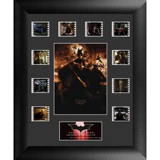 Batman Begins Mini Montage FilmCell Presentation Framed Memorabilia