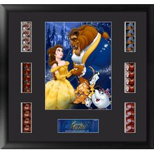 Beauty and the Beast Montage FilmCell Presentation Framed Memorabilia