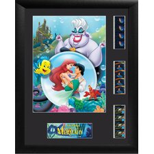 Little Mermaid Triple FilmCell Presentation Framed Memorabilia