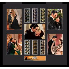 Gone With The Wind Montage FilmCell Presentation Framed Memorabilia