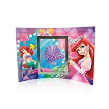 Disney Princesses (Ariel) Curved Glass Print with Photo Frame