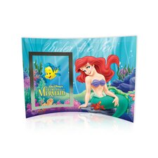 <strong>Trend Setters</strong> Little Mermaid (Under the Sea) Curved Glass Print with Photo Frame