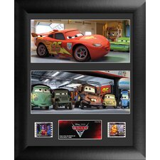 Cars 2 Double FilmCell Framed Art