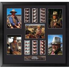 John Wayne Montage FilmCell Presentation Framed Memorabilia