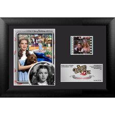 Wizard of Oz 75th Anniversary (Dorothy) Mini FilmCell Presentation Framed Memorabilia