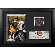 Wizard of Oz 75th Anniversary (Scarecrow) Mini FilmCell Presentation Framed Memorabilia