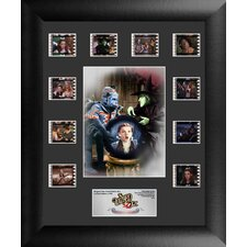 Wizard of Oz 75th Anniversary Mini Montage FilmCell Presentation Framed Memorabilia