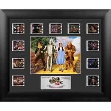 Wizard of Oz 75th Anniversary Mini Montage FilmCell Presentation 2 Framed Memorabilia