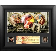 Gone with The Wind 75th Anniversary Single FilmCell Presentation Framed Memorabilia