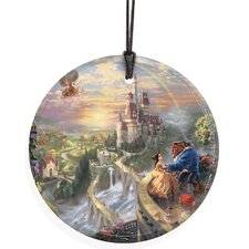 Thomas Kinkade (Beauty and the Beast Falling in Love) StarFire Prints Wall Décor