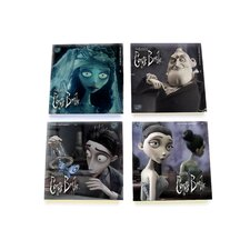 Corpse Bride Glass Print Coaster (Set of 4)