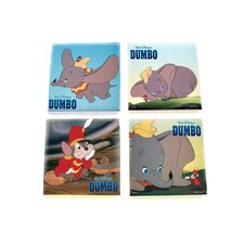 Dumbo Glass Print Coaster (Set of 4)
