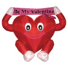 Valentine's Day Inflatable Sweet Heart Decoration